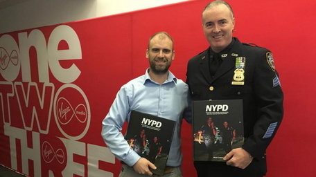 Capturing a behind the scenes look at the NYPD