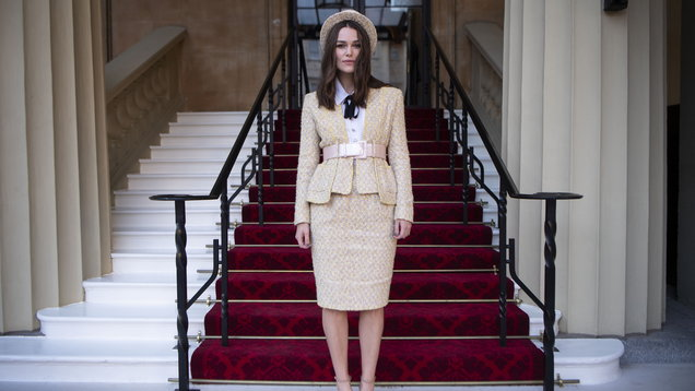 As Keira Knightley receives an OBE, we look back at her fashion evolution