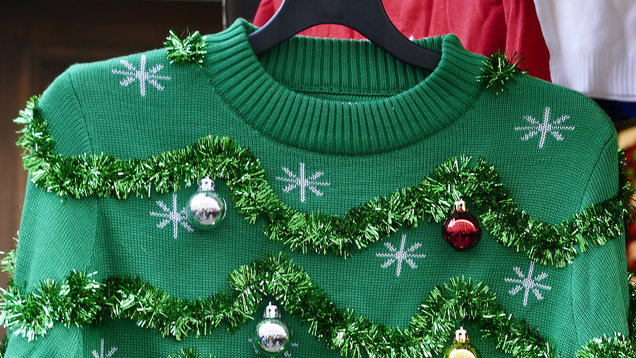 Christmas Jumper Day: The emotional stages of wearing baubles on your sleeve