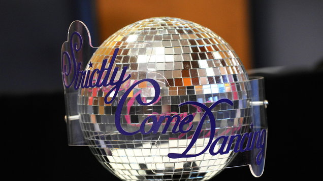 The Strictly Come Dancing trophy (Image: PA)
