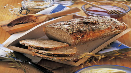 Healthy Oat & Seed Bread