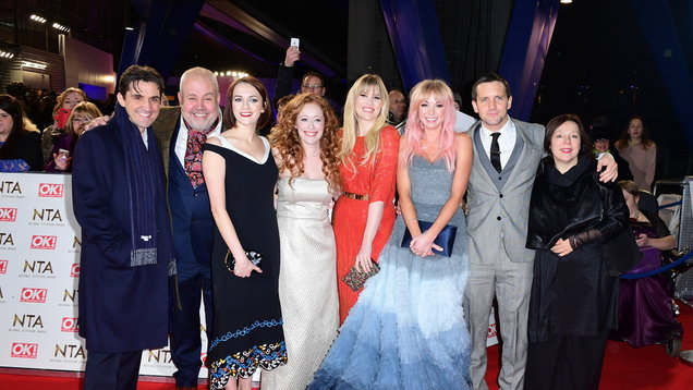 Helen George and the cast of Call The Midwife