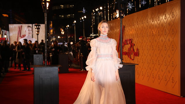 European premiere of Mary Queen of Scots - London