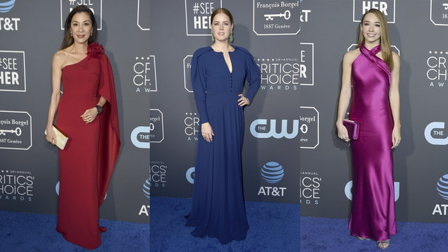 Critics' Choice Awards: How to get the red carpet colour blocking look