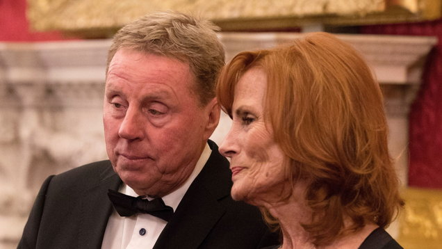 Harry Redknapp's wife finding it 'hard' to be in the limelight