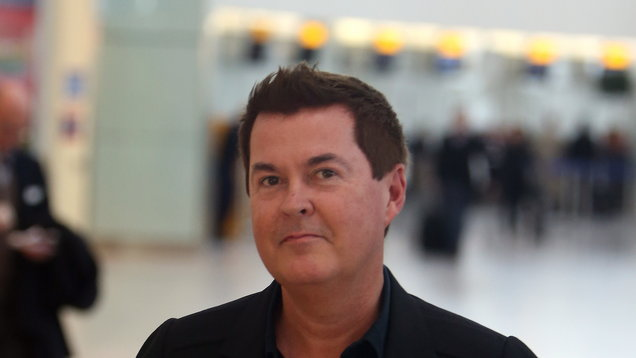 Simon Fuller sighting - Heathrow