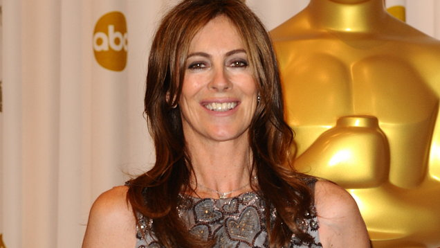 Kathryn Bigelow with her Oscar for best director in 2010 (Image: PA)