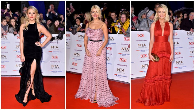 [PICS] I'm A Celebrity stars lead the glamour at the NTAs