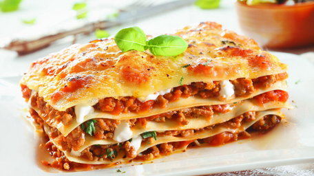 Homemade Beef Lasagne with extra vegetables