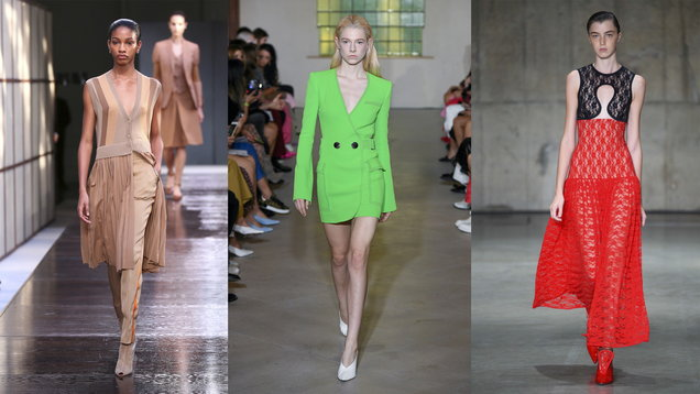 From beige to bike shorts: The 7 most important trends of spring/summer 2019