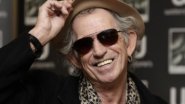 Keith Richards book signing - London
