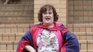 Susan Boyle given honorary degree