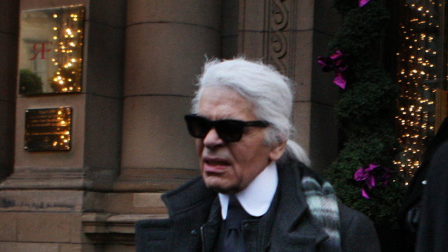 Karl Lagerfeld in Edinburgh