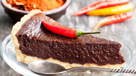 Chilli and Tequila Chocolate Torte