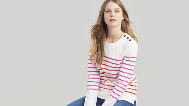 f996022dafec Where to get the best Breton tops on the high street - Fashion from Xposé -  Virgin Media Television