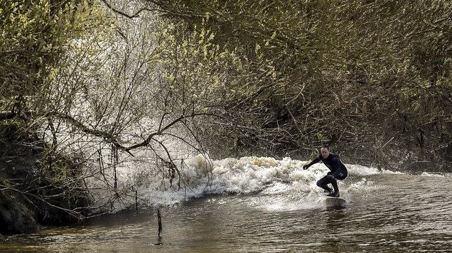 As surfers delight in the Severn bore - here's everything you need to know