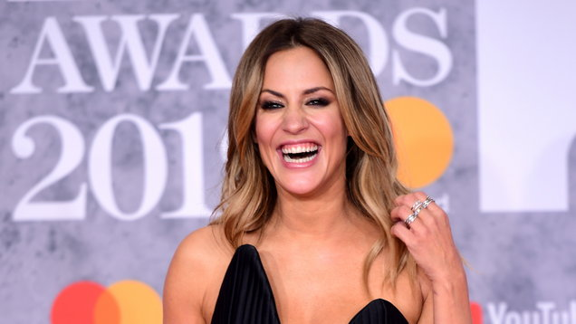 Caroline Flack believes live TV has prepared her for Bake Off pressure