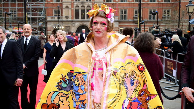 Grayson Perry's Olivier Awards cape - and 6 other times he's been a colourful fashion maverick