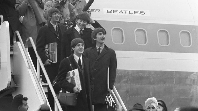 NYPD log books list 'thin blue line' holding back Beatlemania