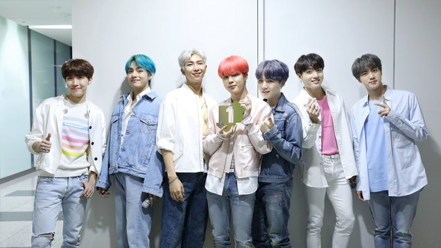 K-pop band BTS become first Korean act to top UK charts