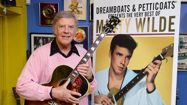 Marty Wilde celebrates 80th birthday