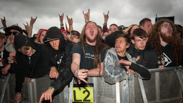 Download Festival 2015 - Day Three - Donington Park