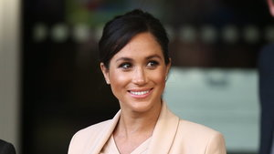 The Duchess of Sussex at the National Theatre
