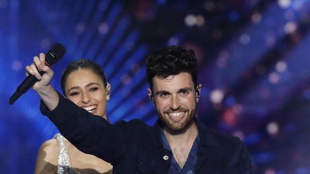 Bisexual Eurovision champion shares message of acceptance following win