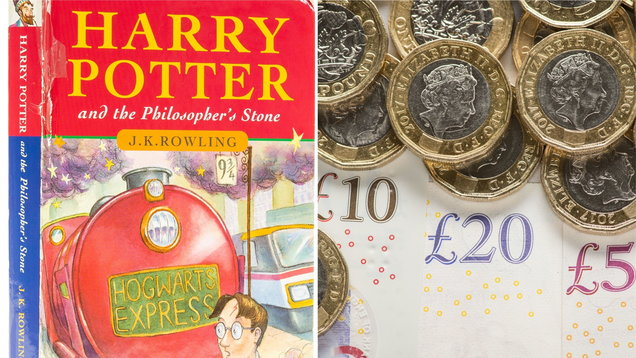 A first edition Harry Potter book is predicted to sell for thousands of pounds at auction