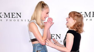Sophie Turner and Jessica Chastain