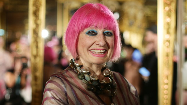 This is why Zandra Rhodes thinks it's important to support young designers
