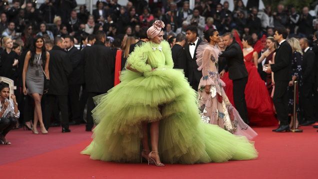 All of the most opulent and OTT gowns from the Cannes Film Festival
