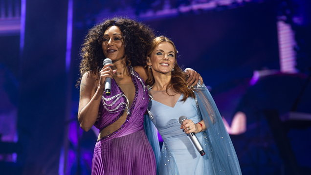 Mel B hopes sound 'will be much better' for next Spice Girls concert