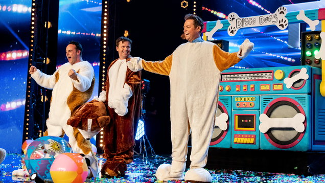 Ant and Dec secretly audition for Britain's Got Talent dressed up as dogs