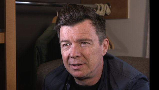 Rick Astley at the Isle of Wight Festival