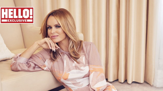 Amanda Holden for Hello! magazine