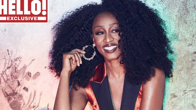 Beverley Knight for Hello! magazine