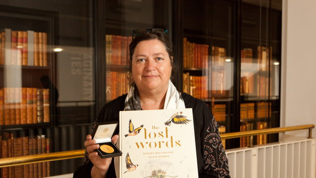 Illustrator Jackie Morris with The Lost Words