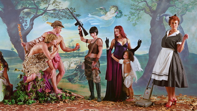 Eleanor Antin Judgment Of Paris (After Rubens), 2007, from Helen's Odyssey