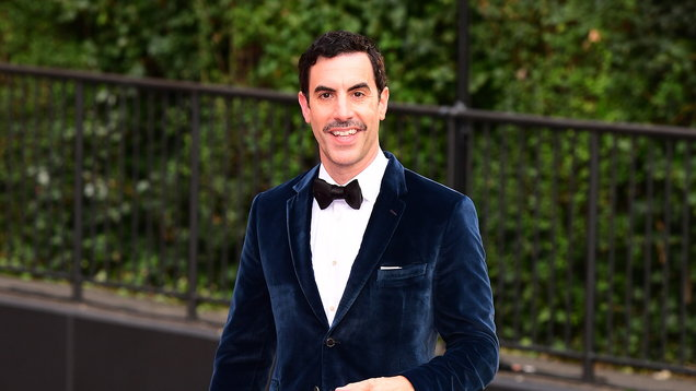 Sacha Baron Cohen: I needed to vent my anger and disappointment about Trump
