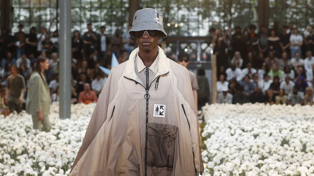 Off-White is here to tell you that yes, bucket hats are now well and truly mainstream