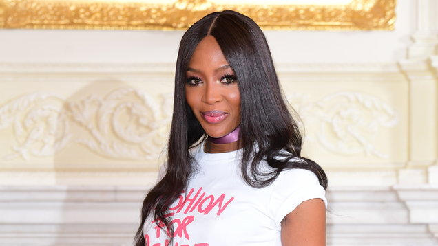 Naomi Campbell announcement