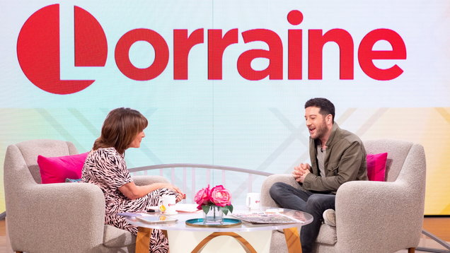 'Lorraine' TV show, London, UK – 25 Jun 2019