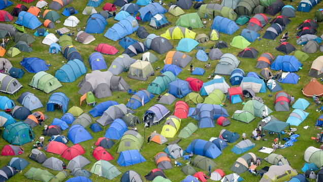 Glastonbury Festival 2017 Preparations