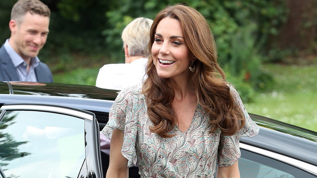 Kate once again proves florals are always a good warm weather choice