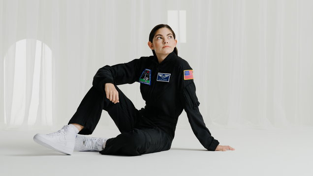 What does it feel like to be the world's youngest astronaut?
