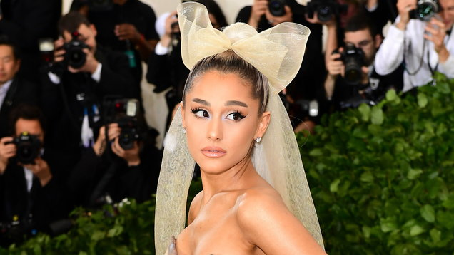 Take a look at the pictures of Ariana Grande as the new face of Givenchy