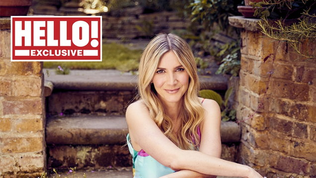 Lisa Faulkner for Hello!