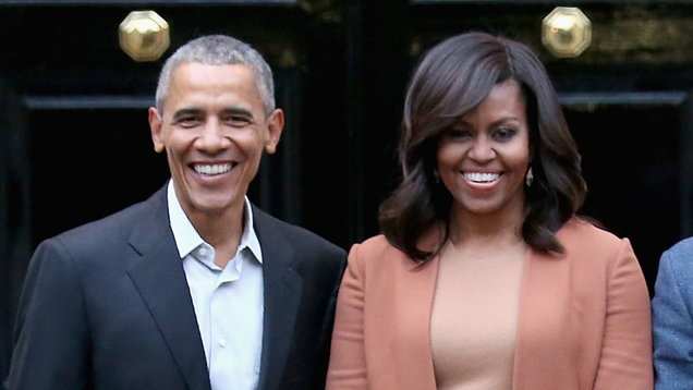Obamas to produce podcast with Spotify