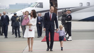 Royal visit to Poland – Day One